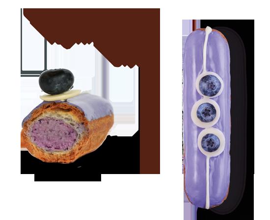 Клубничный эклер